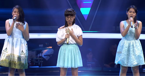 Kim Menang Battle Rounds The Voice Kids Indonesia 9 November 2017