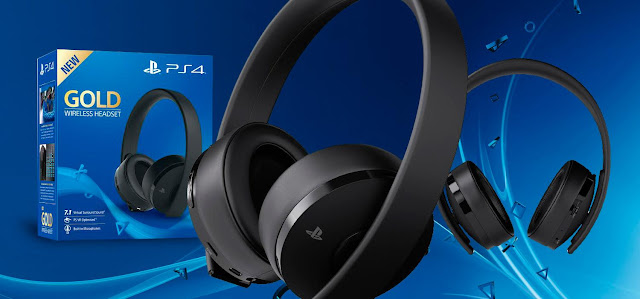Nuevo Audífonos Sony Gold