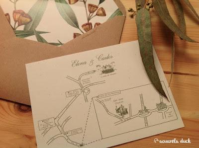 Papelería boda personalizada