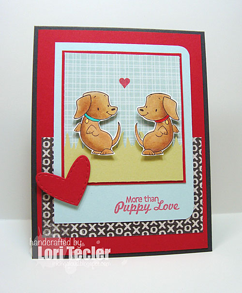 More Than Puppy Love card-designed by Lori Tecler/Inking Aloud-stamps from Sugar Pea Designs