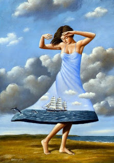 Dancing to the end of love Rafal Olbinski