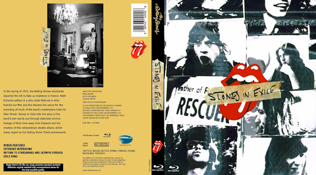 Stones in Exile Bluray Cover