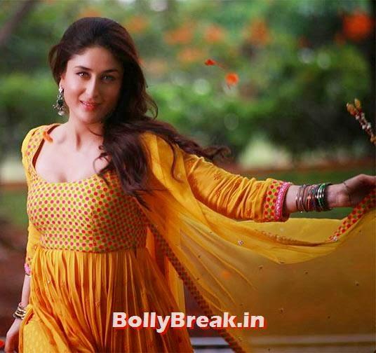 Kareena Kapoor Pics in Desi Dresses - Lehenga Choli ...