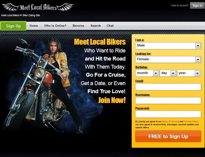 meet local bikers