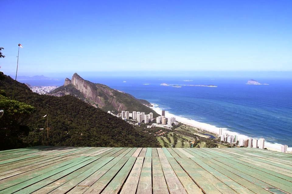 Ala Delta en Rio de Janeiro, Rampa de Pedra Bonita
