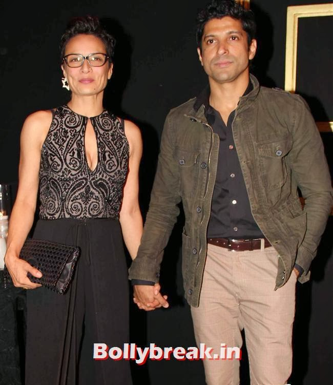 Adhuna Akhtar and Farhan Akhtar, All Bollywood Celebs at Deepika Padukone Golden Party