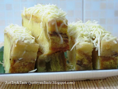 Resep Cake Pisang dengan Cream Cheese
