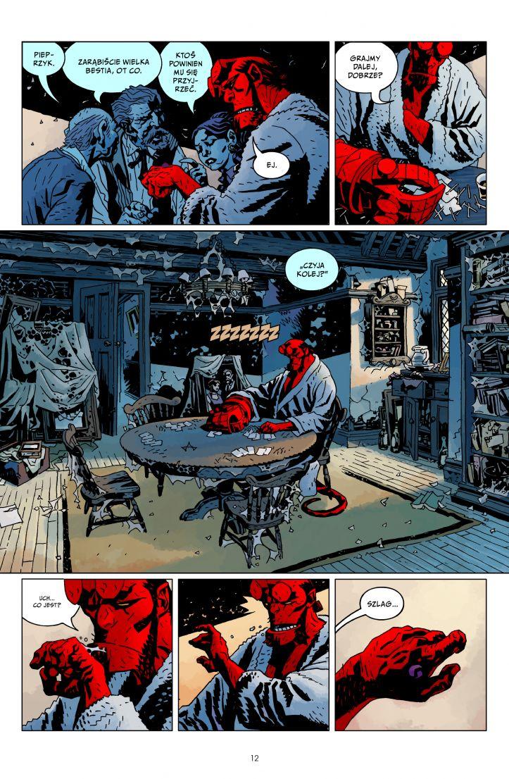 Hellboy tom 5 przykładowa strona