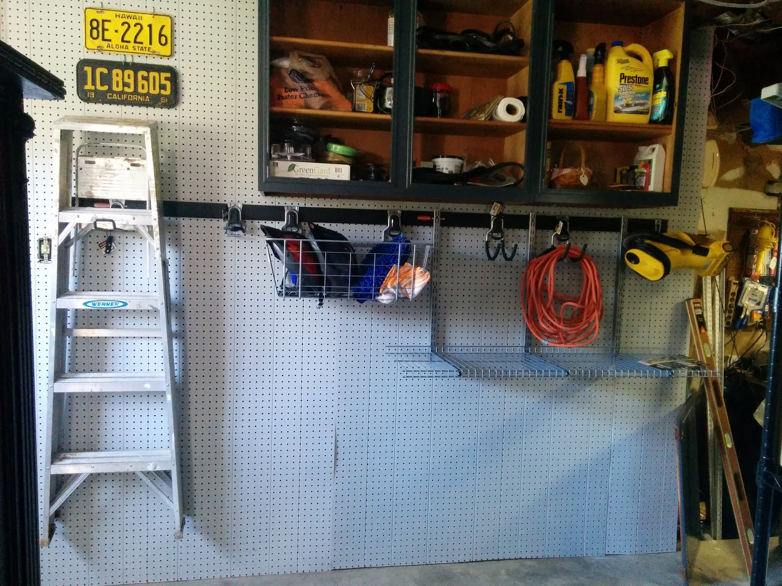 Using FastTrack for organizing the garage