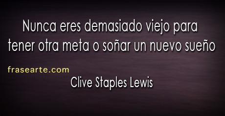 Clive Staples Lewis frases para la vida