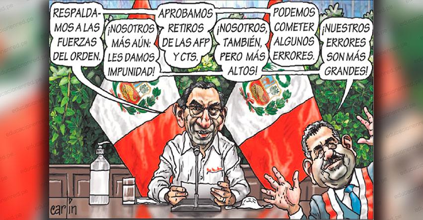 Carlincaturas Miércoles 1 Abril 2020 - La República