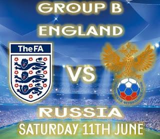 مشاهدة مباراة انجلترا وروسيا بث مباشر England vs Russia