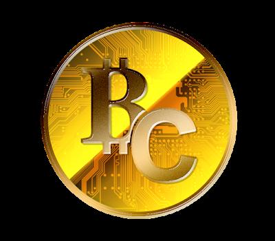 ビットコインキャッシュのフリー素材(金貨ver)