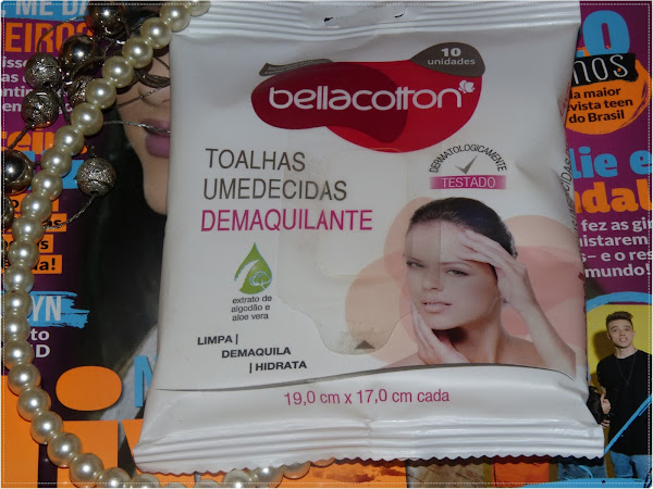 Resenha das toalhas umedecidas demaquilantes da BellaCotton