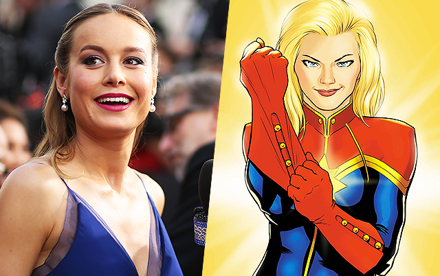 captain marvel film actrice