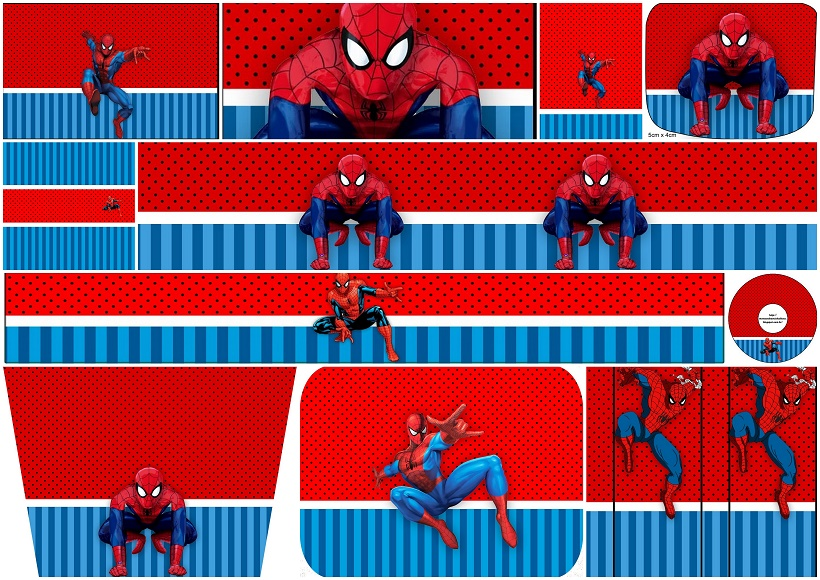 Spiderman Party Free Printable Candy Bar Labels - Oh My Fiesta