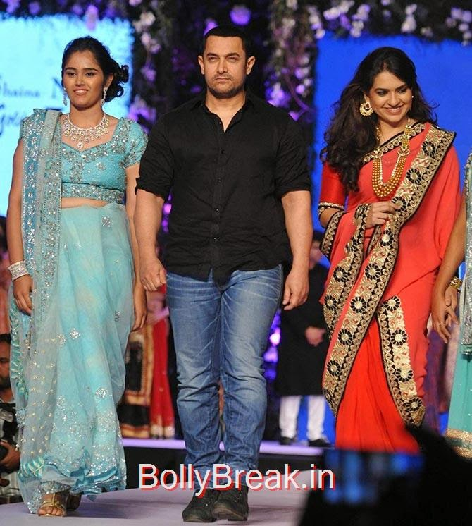 Aamir Khan, Shaina NC, Sonakshi, Aamir, Diandra's CPAA Fashion Show Photo gallery 2015