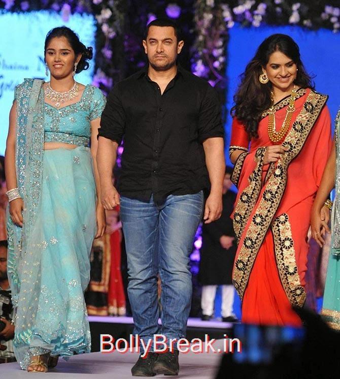Aamir Khan, Shaina NC