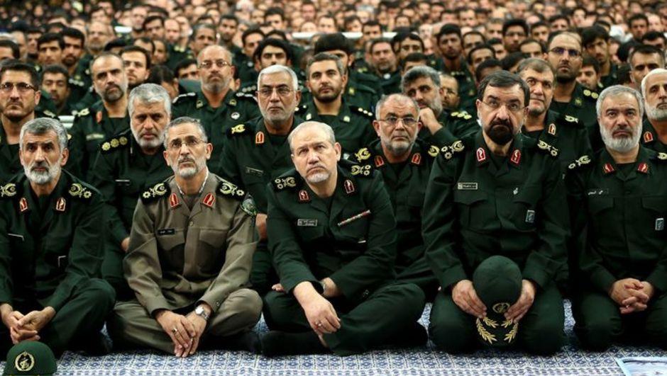 İran Devrim Muhafızları Pasdar Pasdaran Muhammed Ali Caferi