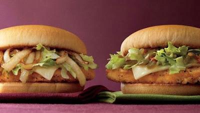 mcchicken burger recipe