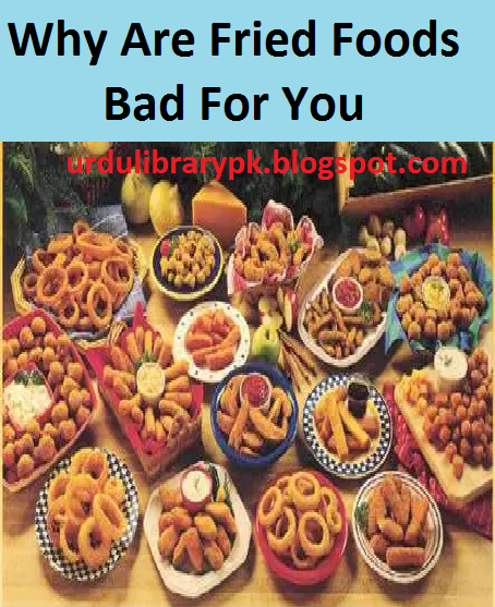 Why Are Fried Foods Bad For You PDF Health Book