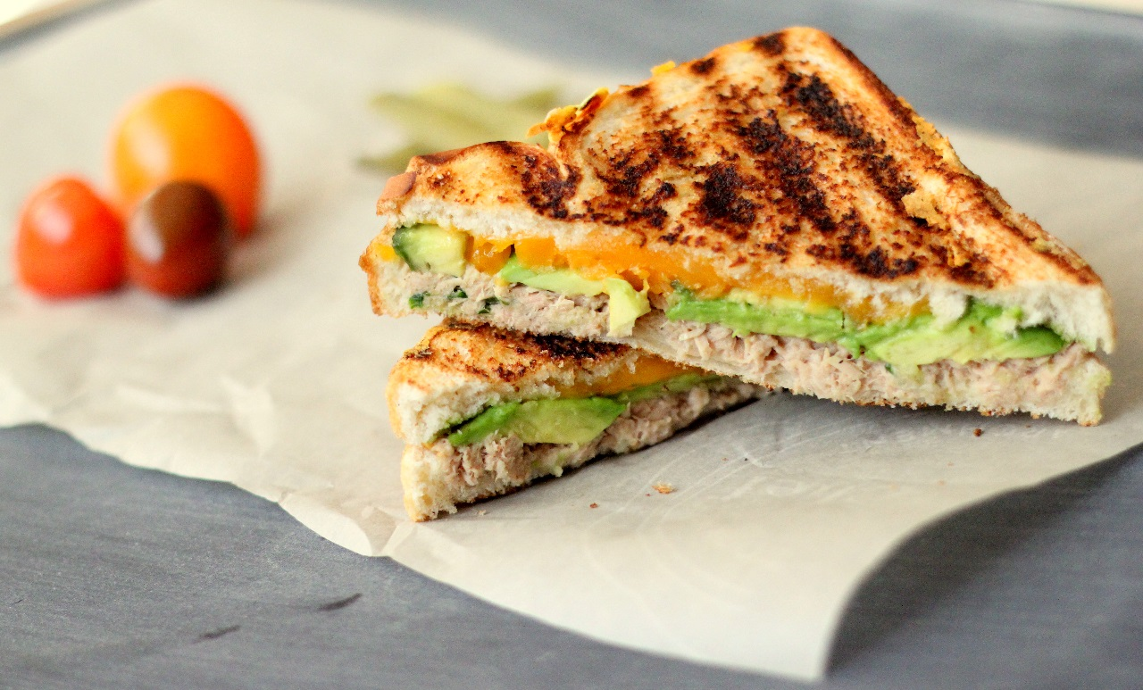 French Toasted Tuna Sandwiches