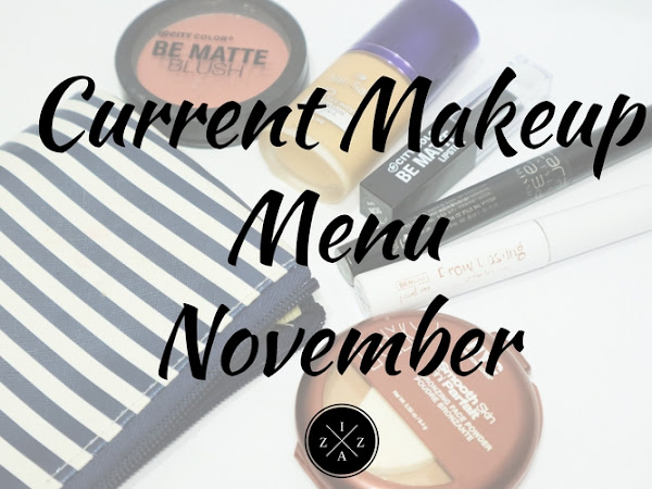 Current Makeup Menu November