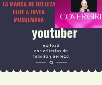 Covergirl elige a musulmana joven y exitosa en Youtube por sus consejos de belleza en su canal que le valieron ser la figura