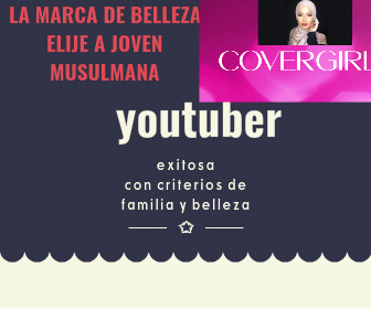 Youtuber furor, musulmana que ficha en Covergirl