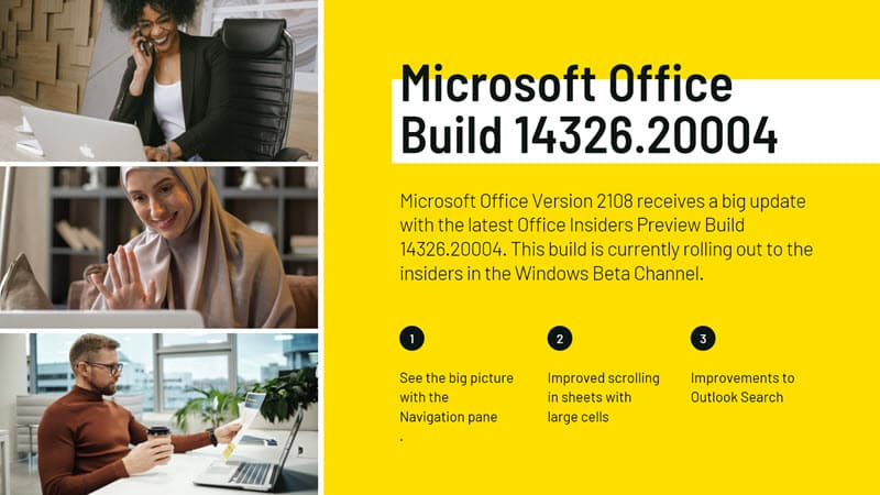 Microsoft Office Build 14326.20004 adds new Navigation pane, improved scrolling and search features