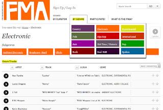 ¿Buscas un Sitio para Bajar Música Gratis, Legalmente, sin Virus y Confiable?, ¡Ese es Free Music Archive!