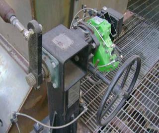 vane actuator style damper drive