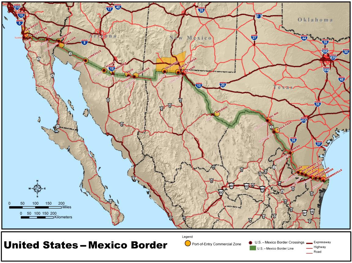 Donalds Mauer zwischen Mexiko und USA | Gar Nix