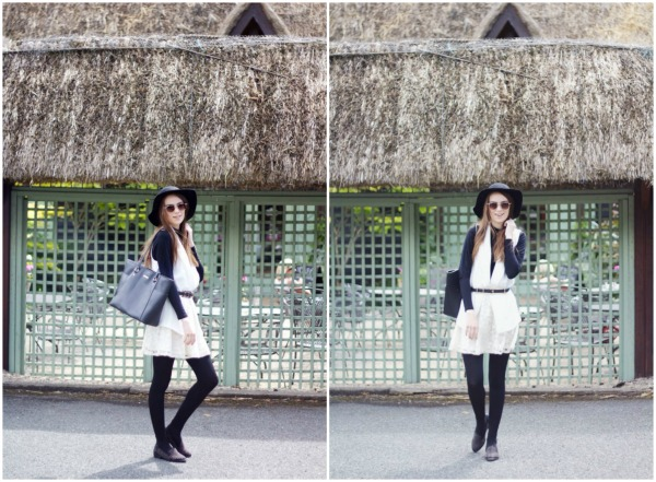 sleeveless blazer & roll neck ootd