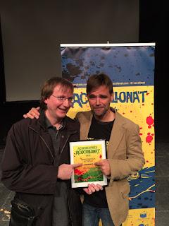 Con David Ruiz, director del festival | Cabrones