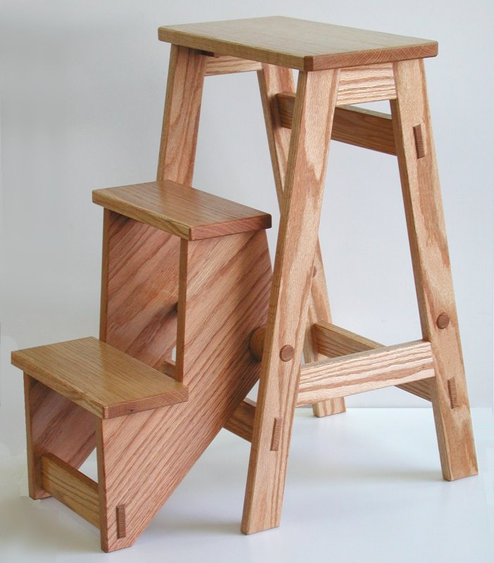 Folding Step Stool - Free Plan