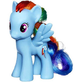 MLP Midnight in Canterlot Pony Collection Rainbow Dash Brushable Pony
