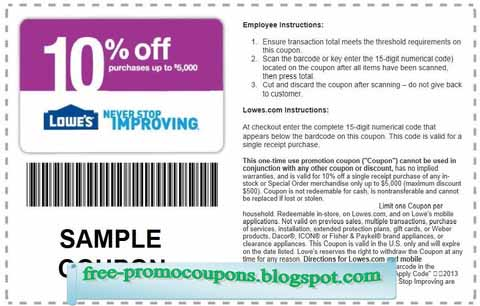 photo relating to Lowes Coupons Printable identify Printable Coupon codes 2019: Lowes Discount coupons
