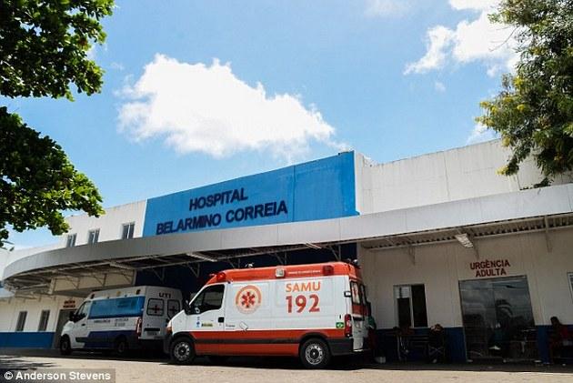 Resultado de imagem para hospital belarmino correia goiana pe