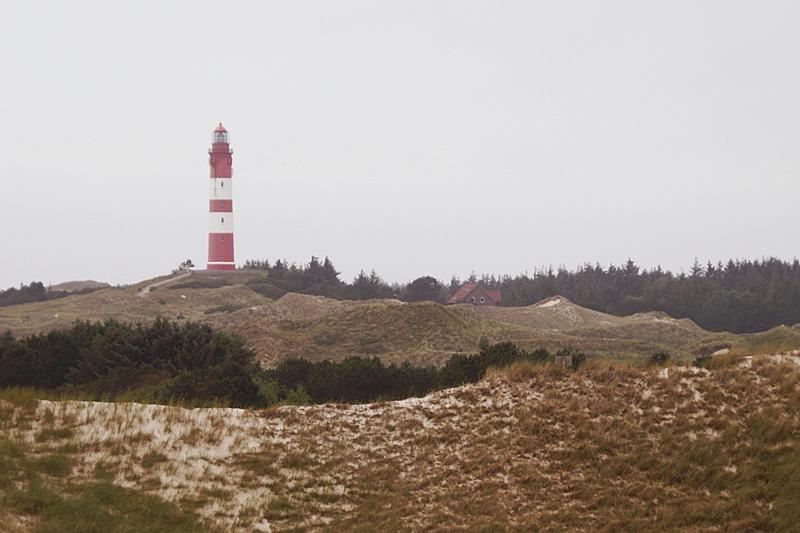 Amrum Aussichtsdüne Blick auf den Leuchtturm