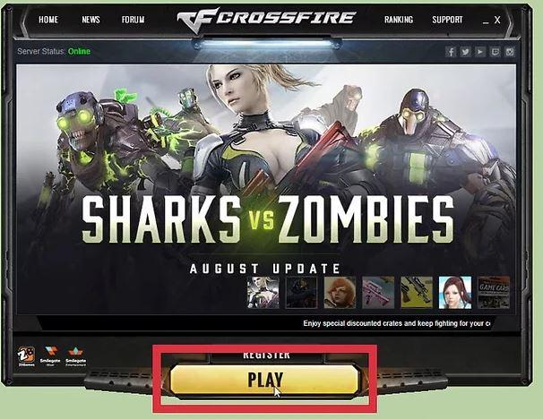 Ejecuta el juego Crossfire después de pensarlo