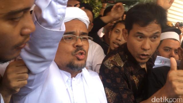 Habib Rizieq: Ada Operasi Intelijen Menarget Kami