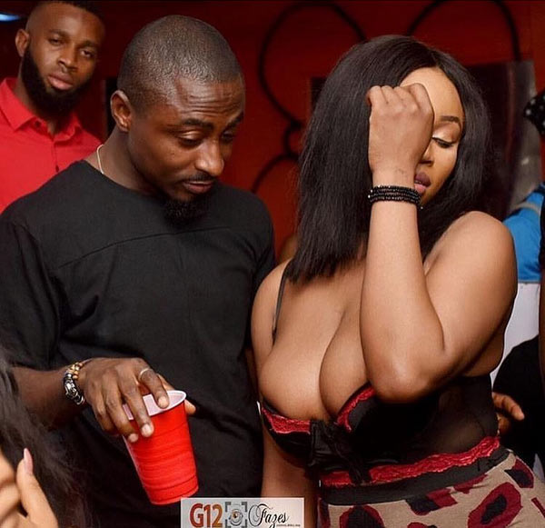 A Lagos nightclub shared this photo on social media (see comments)
