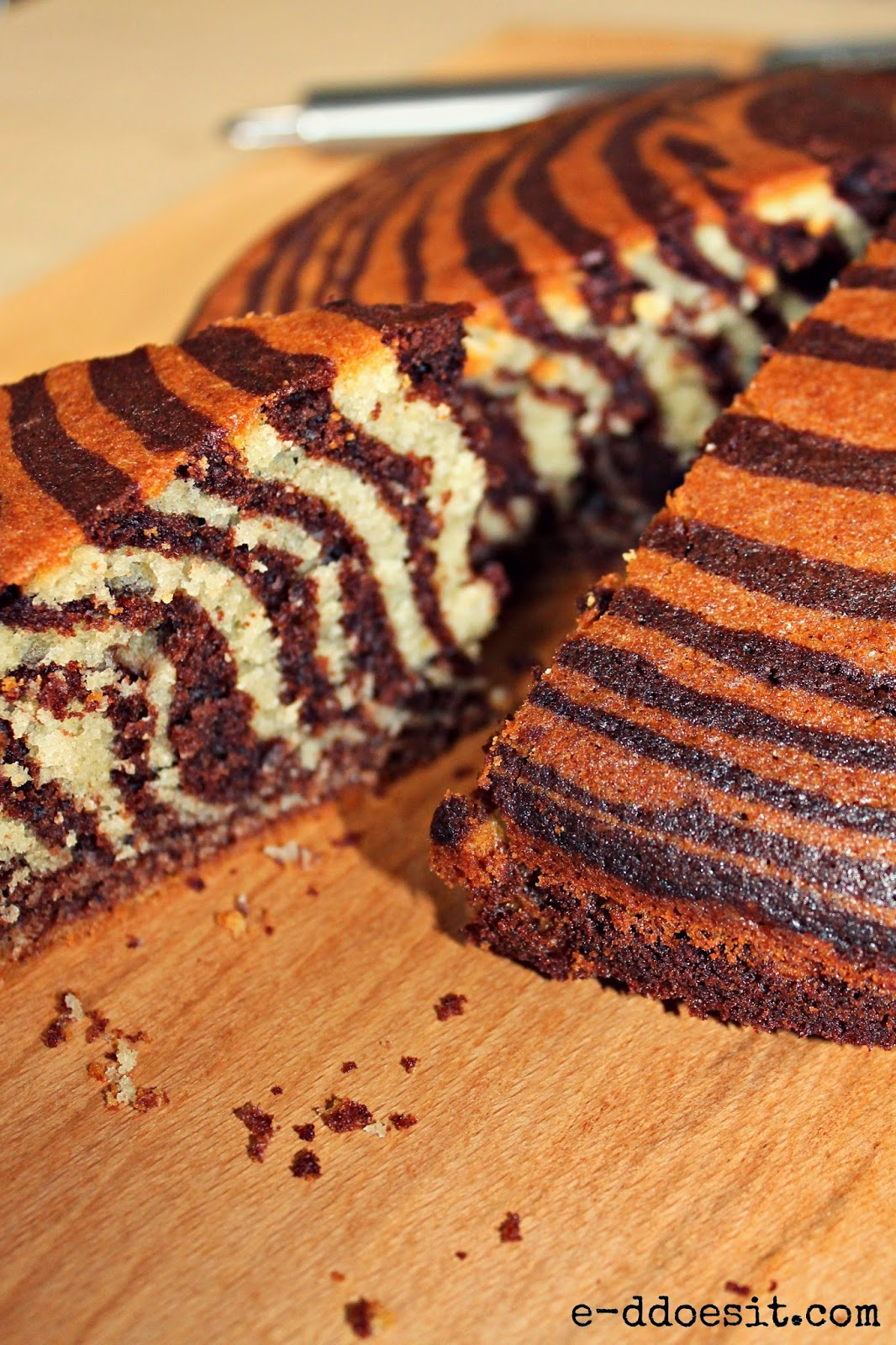 Crouching Tiger Hidden Zebra Cake