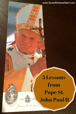 5 Lessons from Pope St. John Paul II