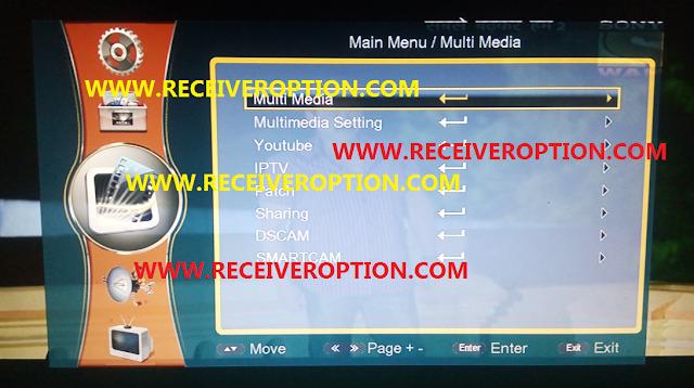 ECOLINK Ei7000 NEXT HD RECEIVER POWERVU KEY NEW SOFTWARE