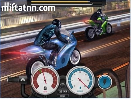 Game Balapan Geng Motor Android Terbaik Top Bike MOD APK
