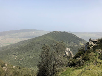 View of Montagna Grande hike.