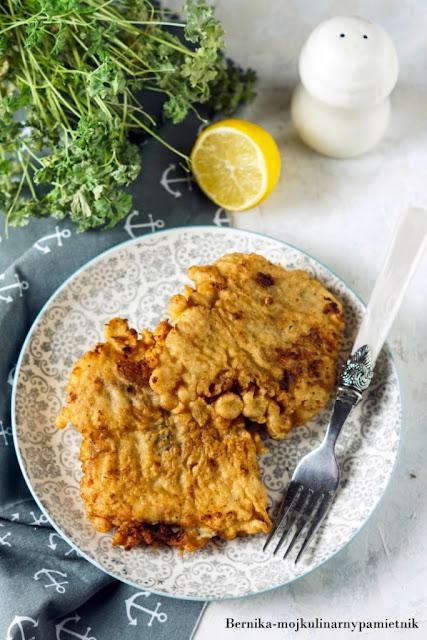 dorsz, ryba, ciasto, obiad, ryby, bernika, nalesnikowe, kulinarny pamietnik