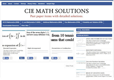 mathematics,CIE,IGCSE,O Level,Additional Mathematics,past papers,solutions,formula,explanations,answers,mark scheme,blogs,calculations,numbers,workings